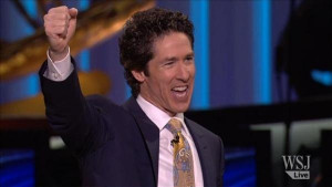 Joel Osteen, Lakewood Church Pastor and author the new book