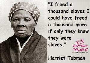 Harriet Tubman's Life in Slavery
