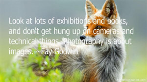 Favorite Fay Godwin Quotes