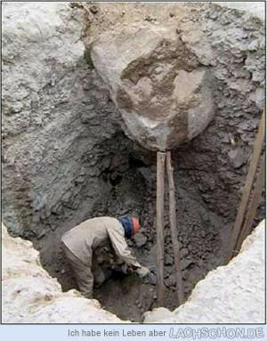 Sicherheit geht vor - stein, Indien, Bau, Bauarbeiter