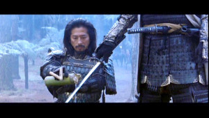 Large Hiroyuki Sanada Tom Cruise In The Last Samurai Titles picture