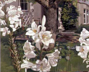 Stanley Spencer, Madonna lilies, 1935