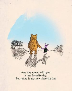 Pooh bear and PigletPiglets, Friends, Pooh Bears, Lovequotes, Baby ...