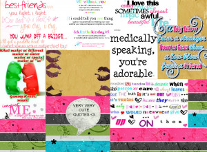 Very Cute Quotes
