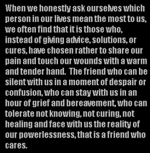 ... which Person In Our lives mean the most to us ~ Friendship Quote