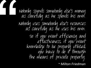 Quotes And Thoughts Images ~ Quotes + Thoughts | Milton Friedman on ...