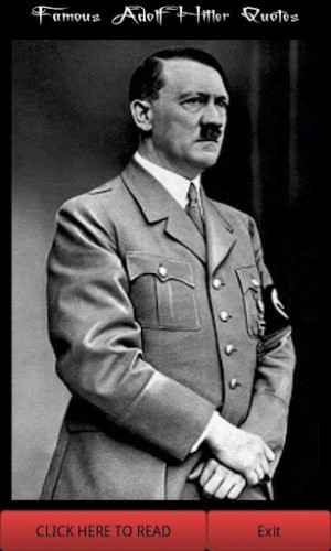 View bigger - Famous Adolf Hitler Quotes for Android screenshot