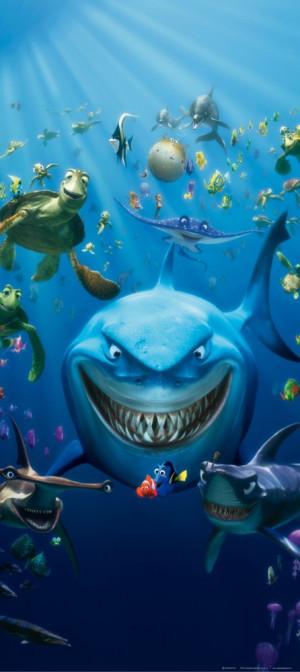 Finding Nemo Bruce Wallpaper