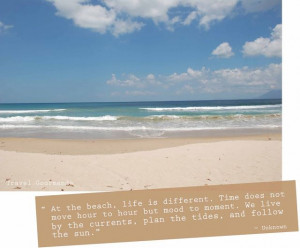 ... by the currents, plan the tides, and follow the sun.