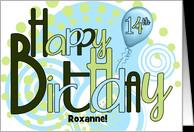 14th Birthday Cards