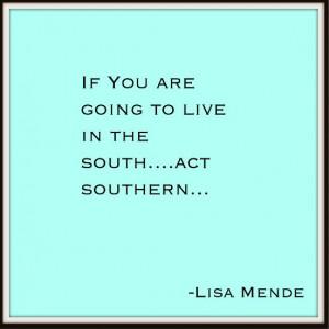 Lisa Mende Design: Southern Pearls of Wisdom