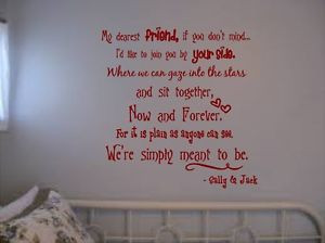 NIGHTMARE-BEFORE-CHRISTMAS-WALL-QUOTE-MY-DEAREST-FRIEND-JACK-AND-SALLY ...