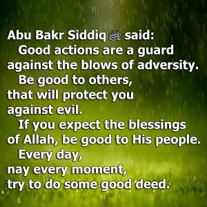 Thread: Abu Bakr As-Siddiq RA