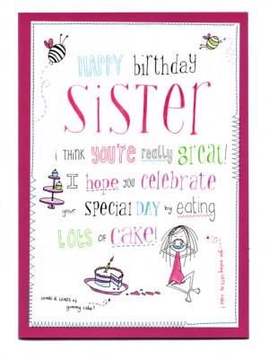 Half Sister Birthday Poems