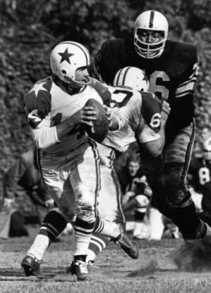 The Dallas Cowboys against the Pittsburgh Steelers in Dallas, 1962 ...