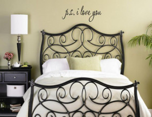 Love You Vinyl wall lettering quotes and sayings home decor ...
