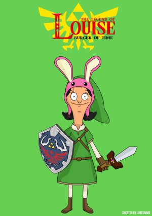 The Legend of Louise (Bob's Burgers / Zelda xover) by LukeSimms