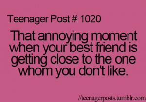 best friend, teenager post, truth