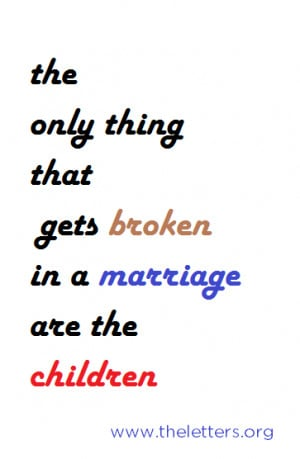 Broken Marriage Quotes Conversation of my mom and dad