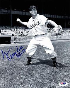 GEORGE KELL HOF 83 Auto Autograph Signed Picture Photo 8X10 Detroit