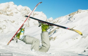 skiing: All that faffing about with ski passes and boots and snow ...