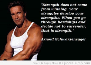 Showing Gallery For Weight Lifting Quotes Arnold