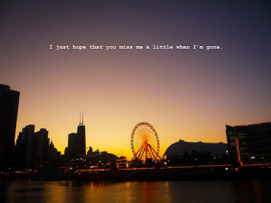 cherlie sheen said quote miss me when im gone quote