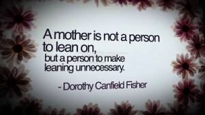 Mother's Day 2013 : Special Quotes