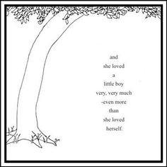 Shel Silverstein Nursery Art from 'The Giving Tree'