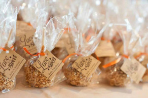 Wedding Favor Sayings Ideas with a Romantic Feel