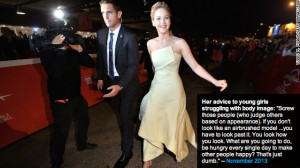Jennifer Lawrence Weight Quote
