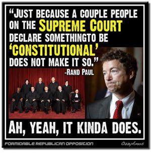 Rand Paul Idiot Quotes | There are no words for this idiot