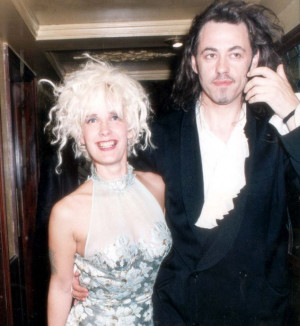 Bob Geldof and Paula Yates Wedding