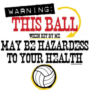 funny volleyball t shirt sayings