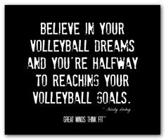 volleyball posters with inspirational volleyball quotes for players ...