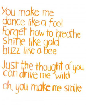 ... Thought Of You Can Drive Me Wild Oh, You Make Me Smile ~ Love Quote