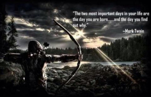 Great Quote by Mark Twain • Hunting in Central North Carolina ...