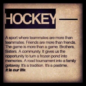Hockey! I'm a real Michigan girl ;0)