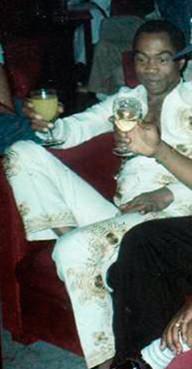 Fela Kuti in 1970