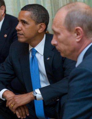 Obama Putin Facebook