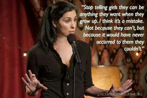 Sarah Silverman Girl power quotes