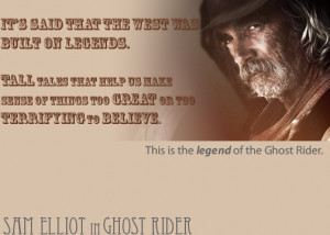Ghost Rider Quote by BlackHeartLvr16