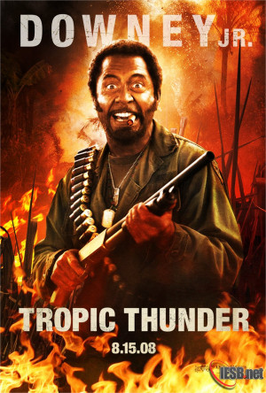 Tropic Thunder, 4 nuove locandine