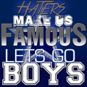 Haters make us famous!!