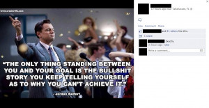... 'Inspirational' Quote From The Wolf Of Wall Street's Jordan Belfort