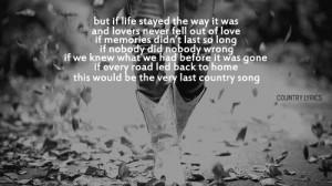 country music lyrics tumblr
