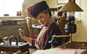 ... by Dame Maggie Smith. Or