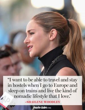 Shailene Woodley quote