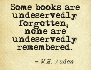 Some books are undeservedly forgotten... #quotes #writers #authors
