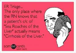 ER nursing funny quotes